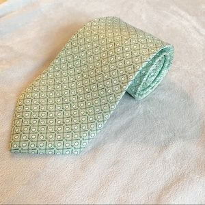 Vineyard Vines Golf Club 100% Silk Tie Lgt Green
